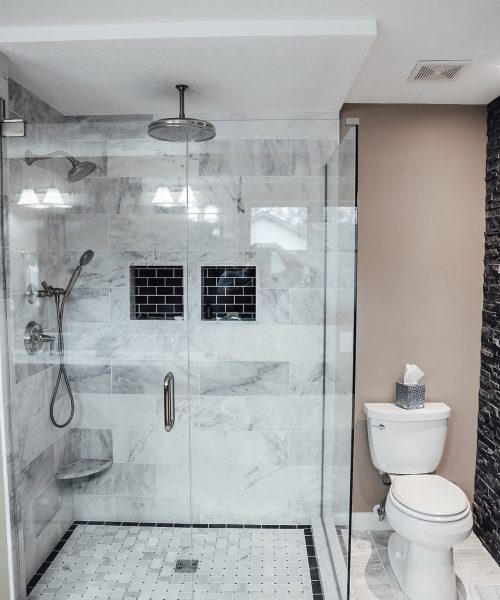 Enclosed Glass Shower